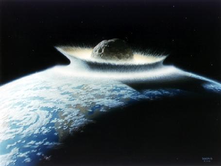 Imagenes de Meteoritos sorprendentes
